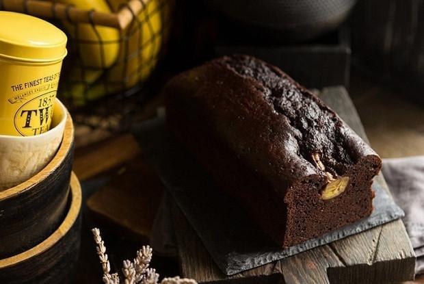 Хлеб шоколодно-банановый