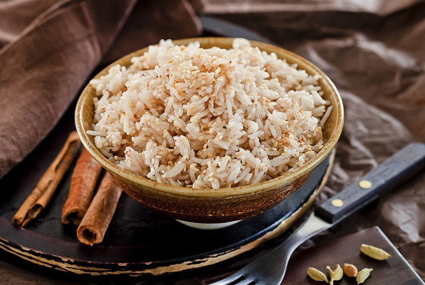 Рисовая каша с пряностями в мультиварке