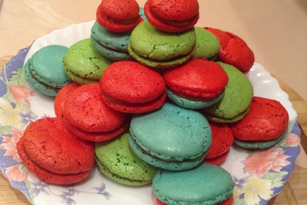 Французское миндальное печенье макарон (Les macarons)