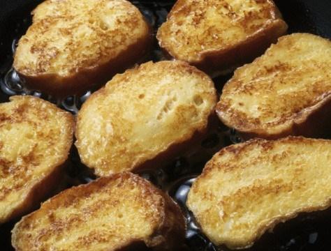 Тыквенные французские тосты со специями