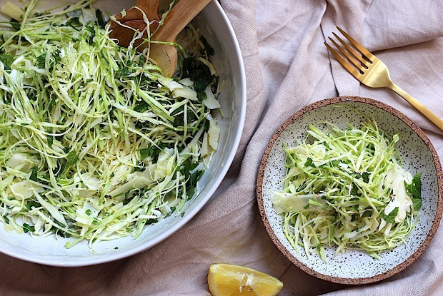 Капустный салат с сыром