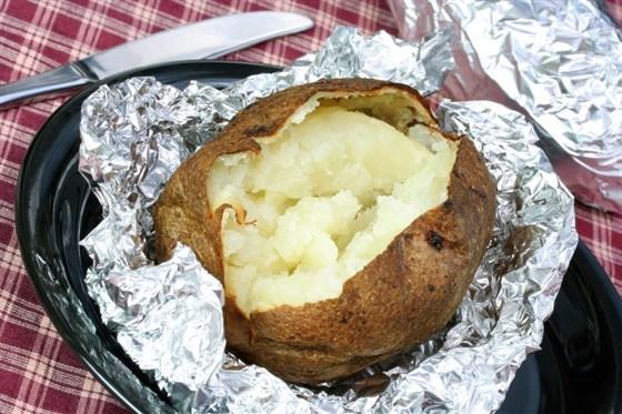 Картофель, печенный в фольге
