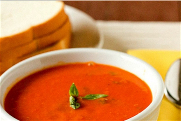 Пряный томатный суп-пюре