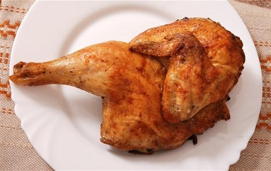 Курица на гриле в цитрусовом соусе с медом