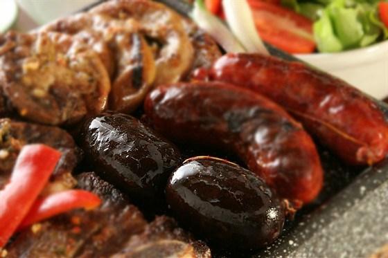 Беарнская черная колбаса (boudin noir)