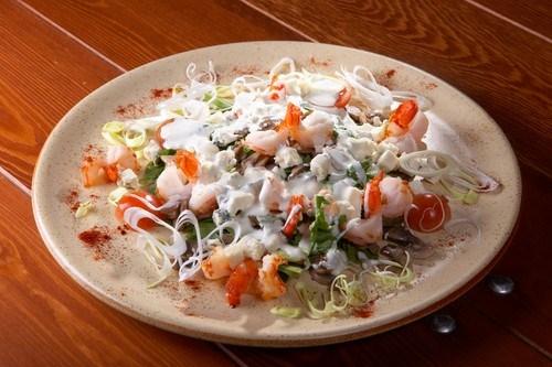 Салат с крабами