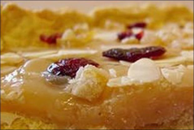 Яблочный пирог без муки
