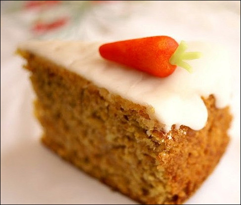 Морковный пряный пирог