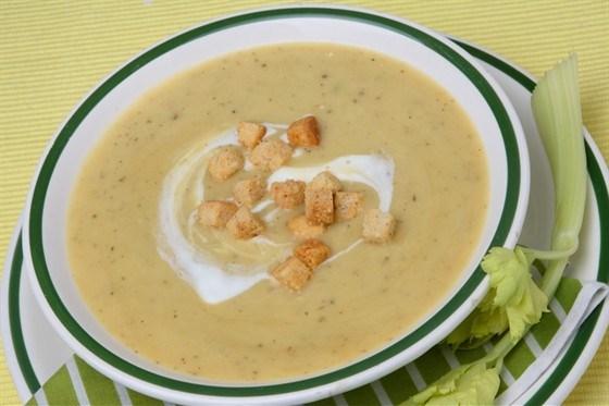 Грибной суп с мадерой