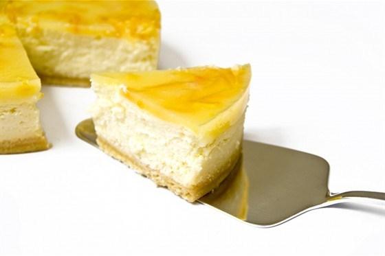 Запеченный лимонный чизкейк