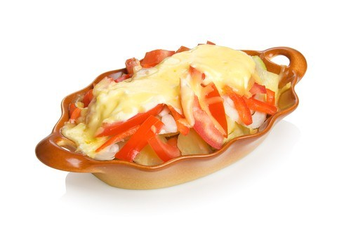 Картофель с перцем