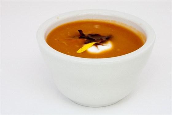 Морковный суп-пуре с карри