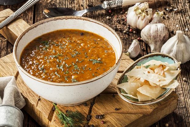 Чечевичный суп мерджимек