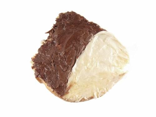 Сэндвич с творогом и шоколадом