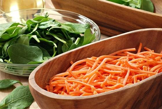 Морковный салат с винным уксусом