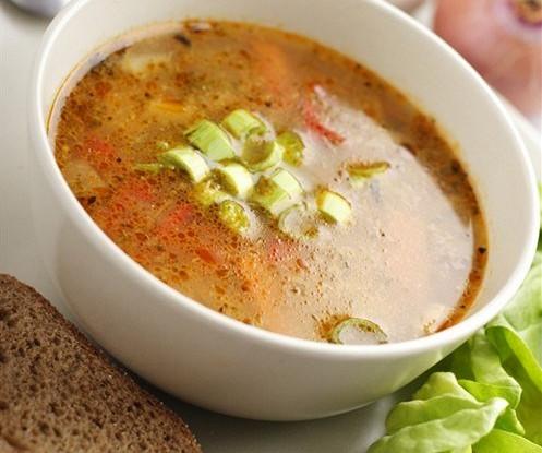 Классический овощной суп
