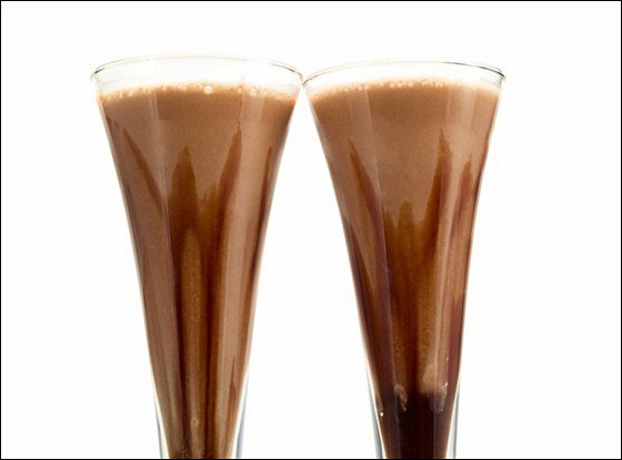 Молочный коктейль с солодом