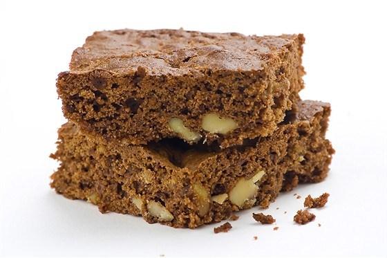 Шоколадно-ореховый пирог