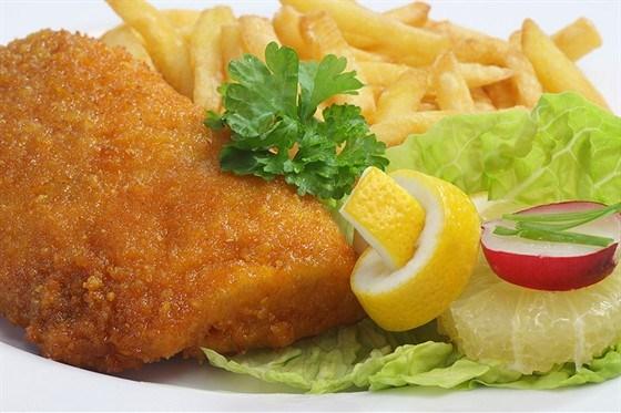 Курица с сыром в хрустящей панировке