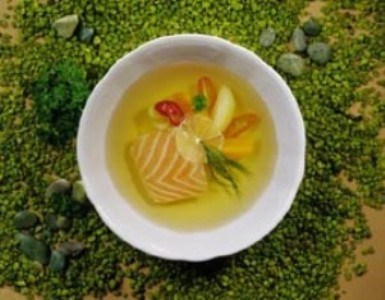 Суп из норвежской семги