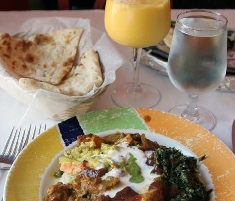 Индийская заправка с манго и карри