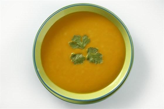 Холодный тыквенный суп
