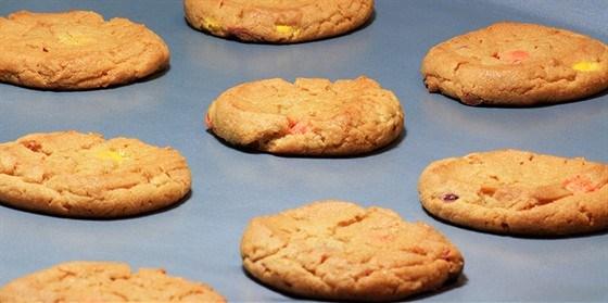Миндальное печенье с тыквой