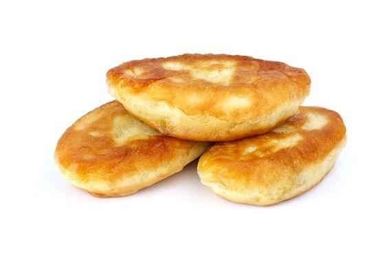 Пирожки из творожного теста с джемом