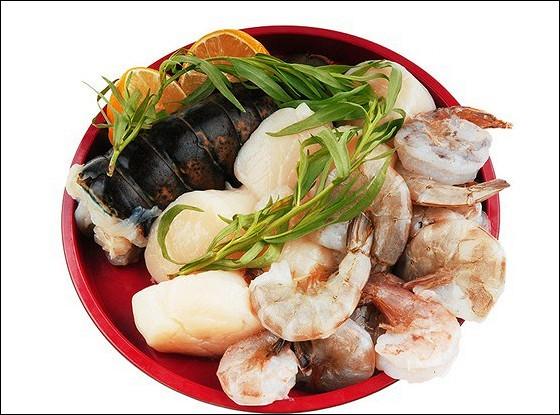 Морепродукты по-азиатски