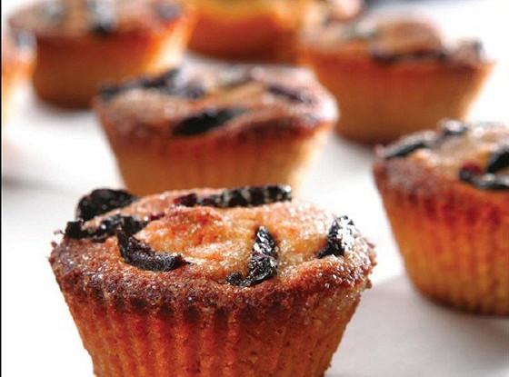 Маленькие кексы с сыром фета и оливковым маслом