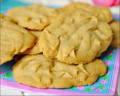 Ванильное печенье с лимонной цедрой