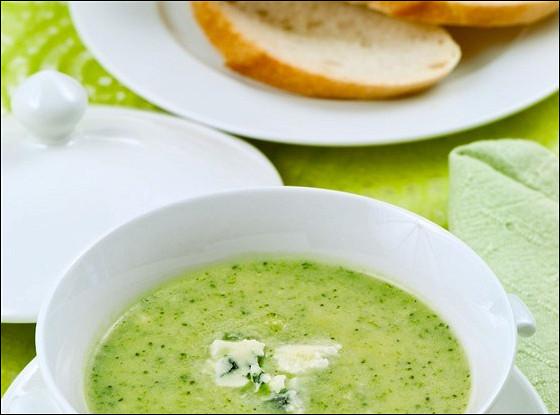 Суп из брокколи и цукини