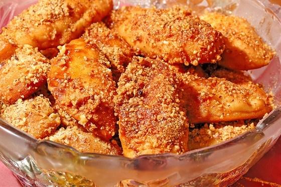 Печенье с засахаренным имбирем