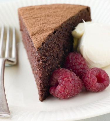 Новогодний шоколадный пирог