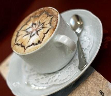 Кофейный напиток с яблочным соком