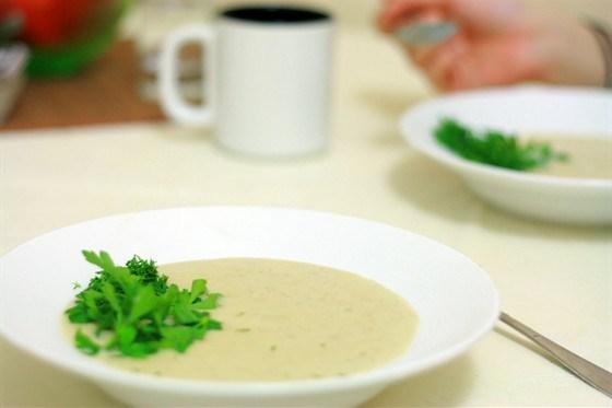 Картофельно-луковый суп-пюре «Типлокастра»