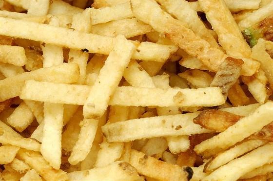 Жареные в духовке картофельные палочки по-японски