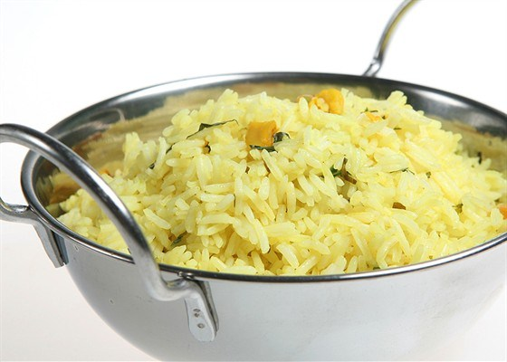 Рис с лимоном и мятой