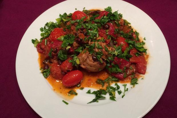 Пири-пири куриное рагу по-португальски