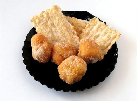 Пончики с ванилью