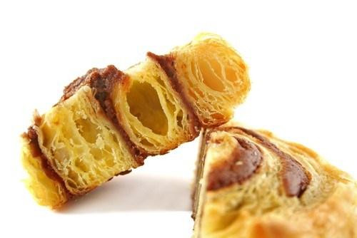 Шоколадно-ванильные булочки из датского слоеного теста