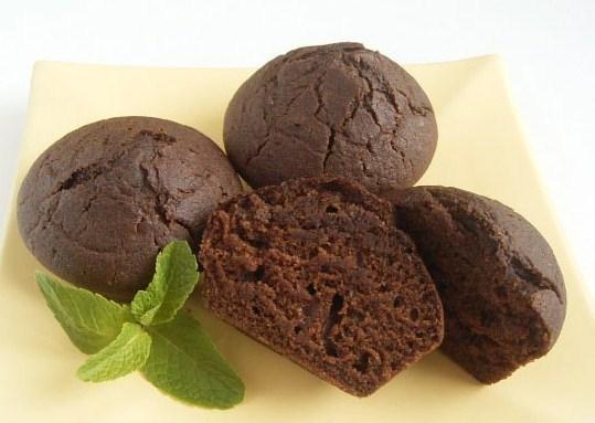 Мятно-шоколадные маффины