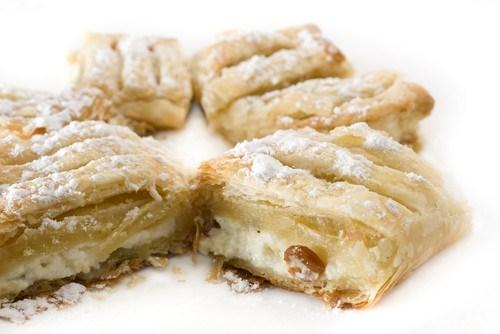 Австрийские пирожные со сливочным сыром