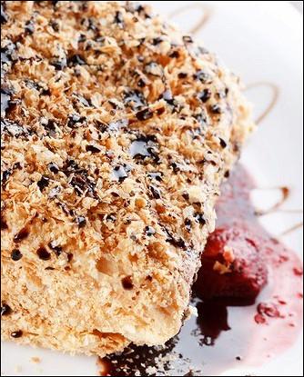 Торт «Наполеон» с кофейным кремом