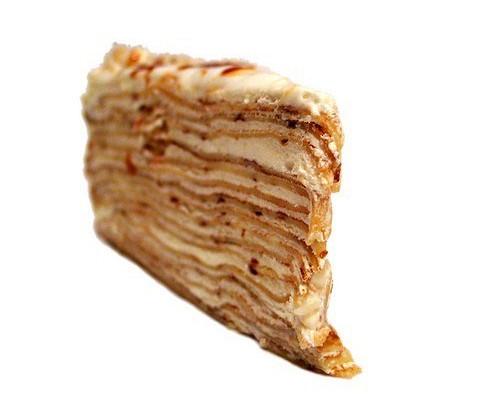 Торт «Наполеон» с орехами