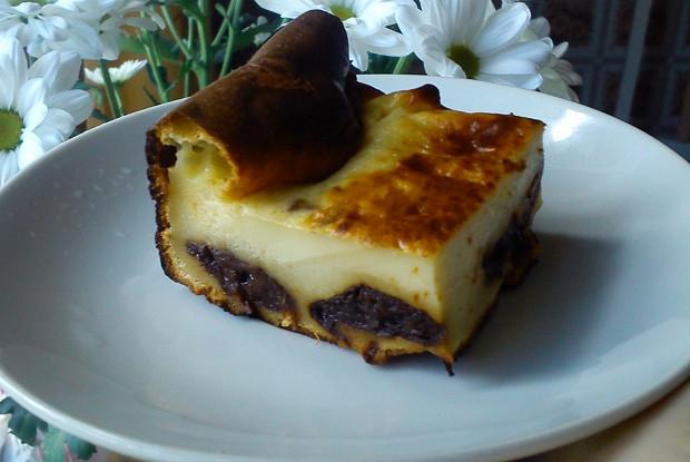 Бретонский пирог с черносливом