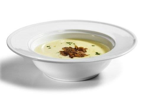 Крем-суп из индейки с трюфелями