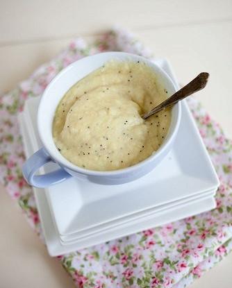 Холодный яблочный крем-суп с карри