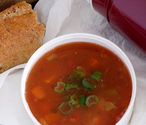 Сливово-томатный суп-пюре