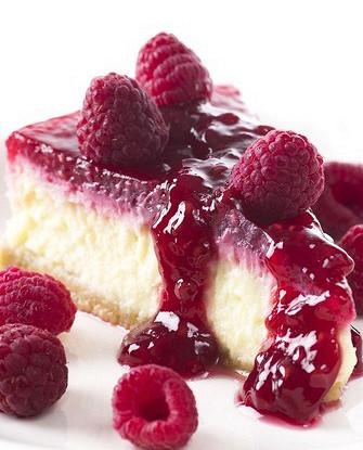 Малиновый пирог со сливочным сыром